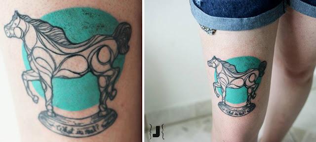 Tatuagem de Cavalo - Tattoos