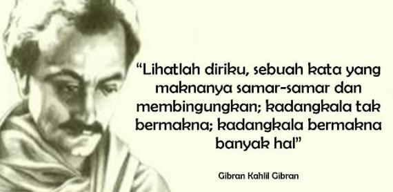 Puisi Rindu Khalil Gibran