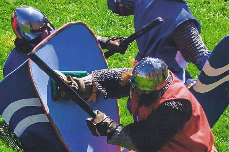 Clash of Knights at Scarborough Castle