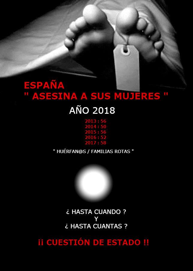 ESPAÑA ASESINA A SUS MUJERES