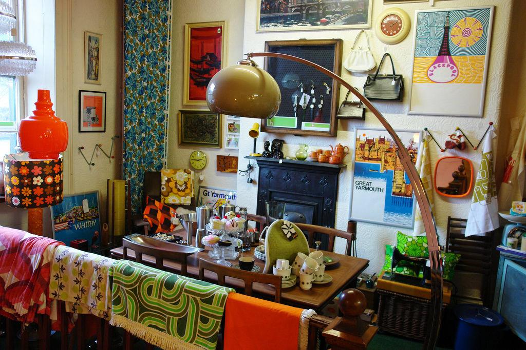 Idee per un arredamento facile lo stile vintage ossia la vendemmia in casa tua - Arredamento casa vintage ...