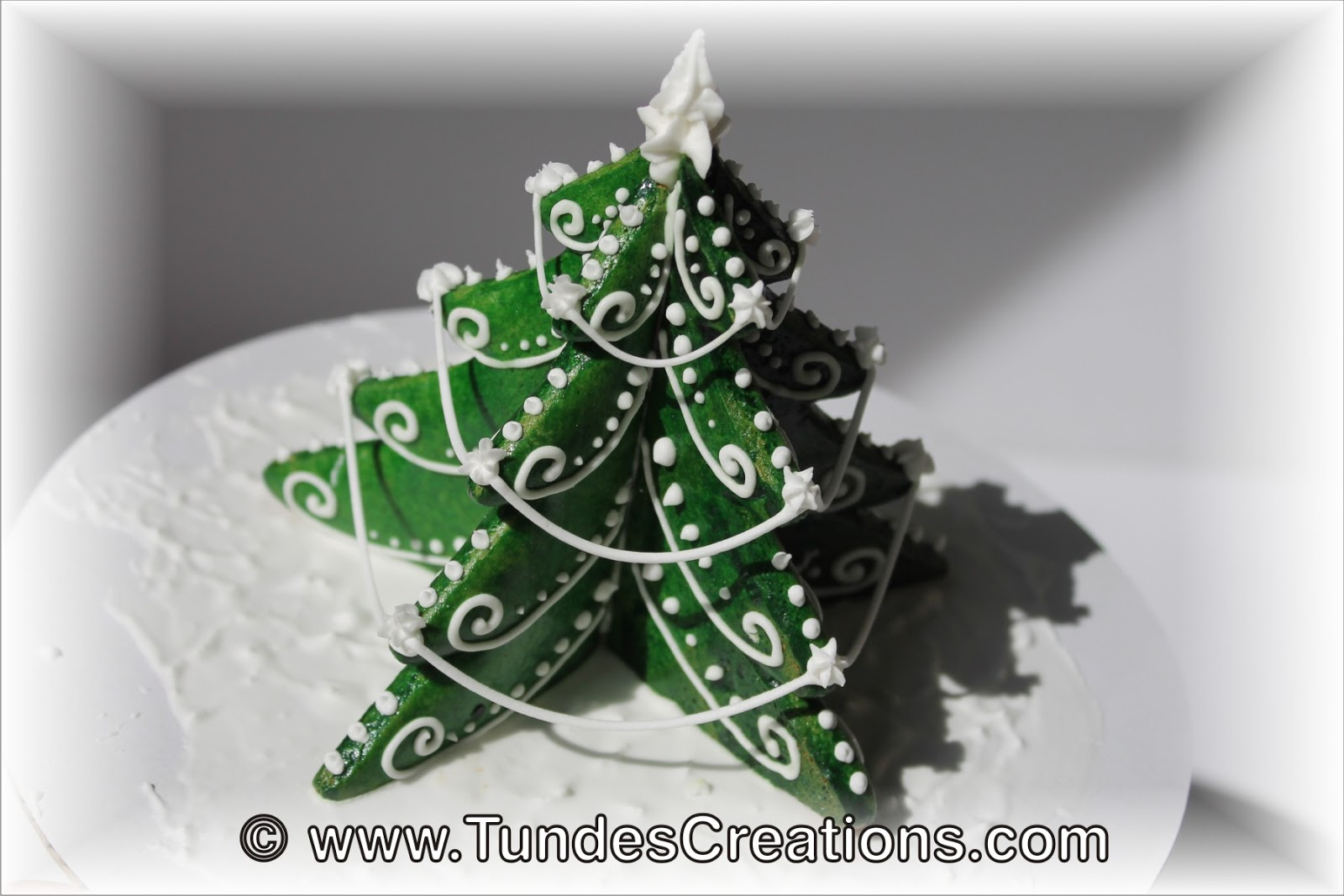 The Gingerbread Artist 3d Christmas Tree
