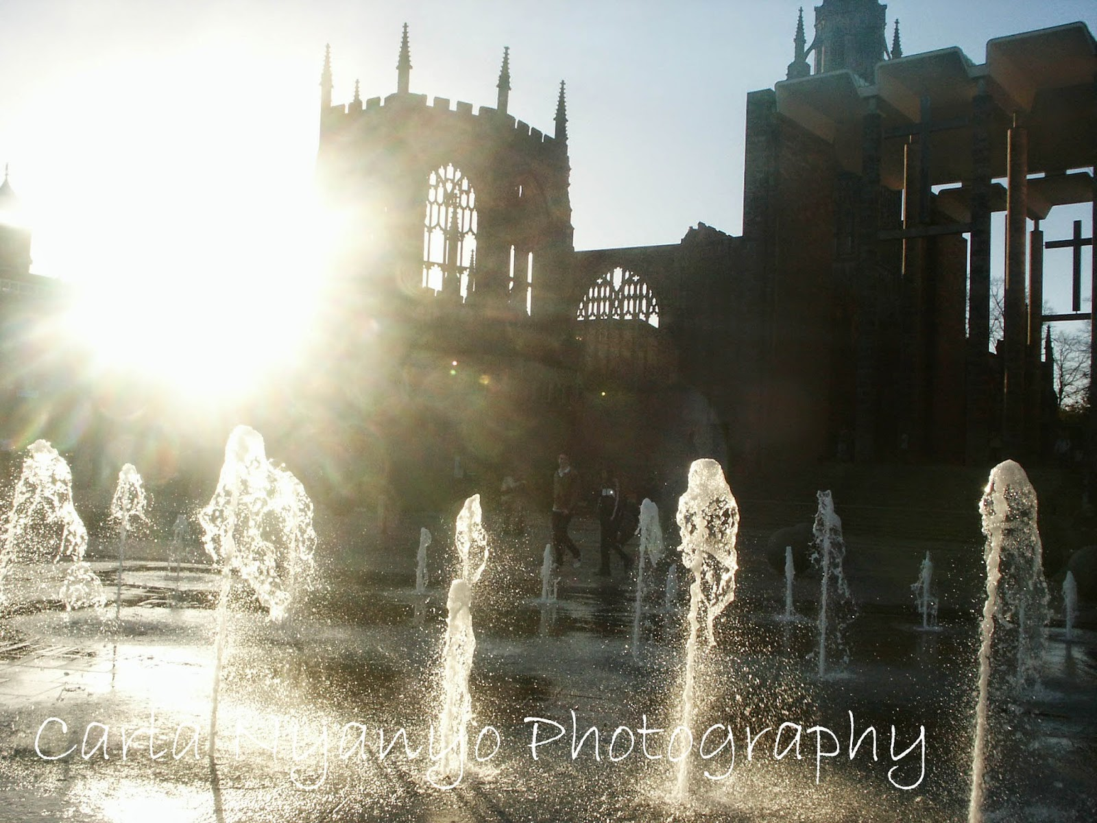 fountains in front of cathedral
