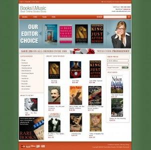 Magento Books Store