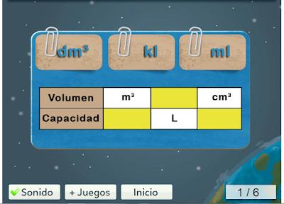 http://www.mundoprimaria.com/juegos-matematicas/juego-equivalencia-capacidad-volumen/