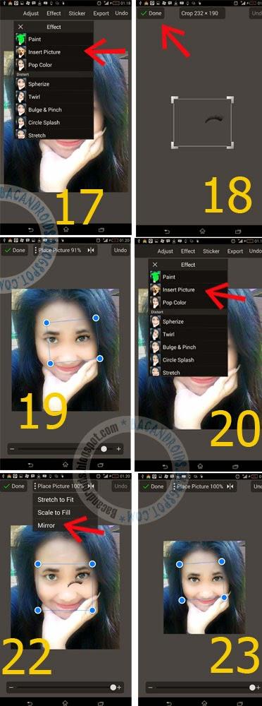 Editing Foto MakeUp Wajah Super Cantik dengan Android