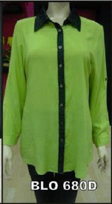 Baju Kemeja Muslim Wanita