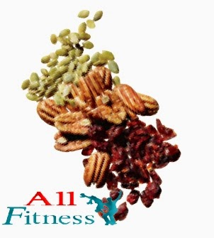 Snack ¼ cup dried cranberries  Snack 12 pecan halves* 1 Tbsp pumpkin seeds * Compared with other nuts, pecans have the most monounsaturated fat—the healthy kind that battles belly blubber.