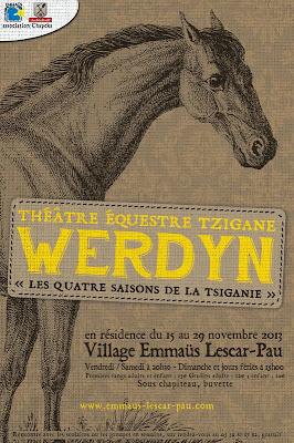cirque équestre tzigane Werdyn à Lescar