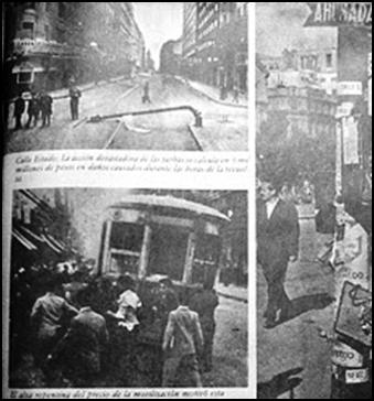 LA TRAGICA PROTESTA DEL 2 Y 3 DE ABRIL DE 1957