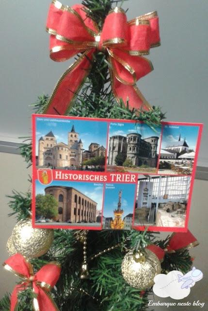 Viajante Secreto 2015, cartão-postal, Altier, Alemanha, Amigo Secreto, Natal