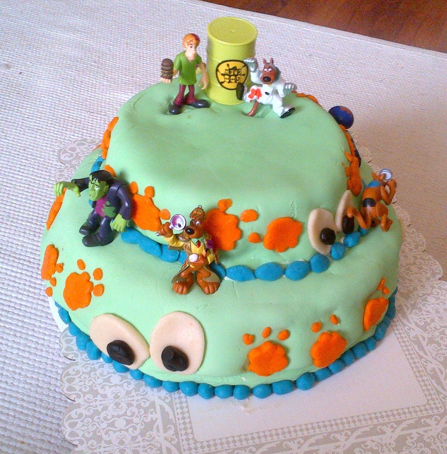 Yusefs 5th Birthday Scooby Doo Cake Monkey Kitchen