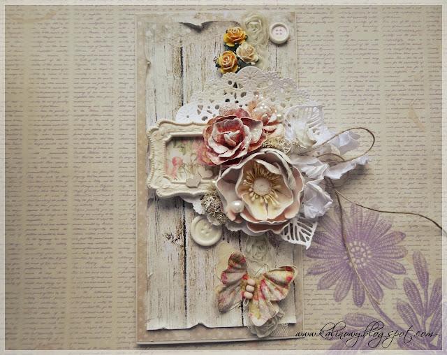 Romantyczna kartka/Romantic card