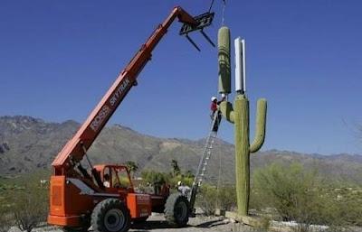 Antenne de téléphonie mobile en Arizona