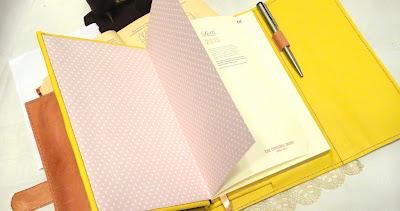 Блокнот органайзер для мастера в съемной супер обложке с петлей для ручки