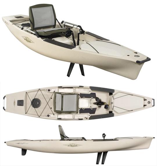 Kayak fishing for Hobie fishing kayak