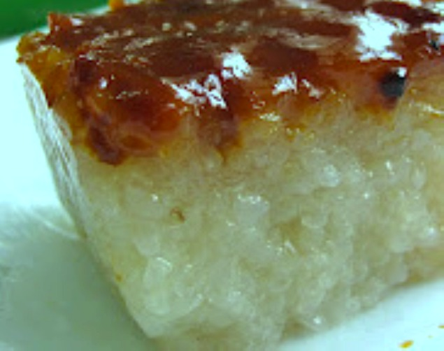 Bibingkang Malagkit Sticky Rice Cake Homemade Recipebest