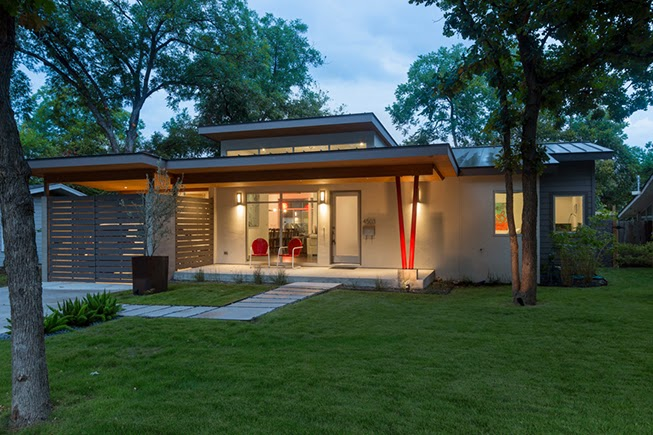 Mad for mid century austin modern home tour 2014 for Small mid century modern homes