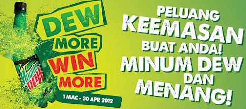 Mountain Dew 'Dew More Win More' Contest