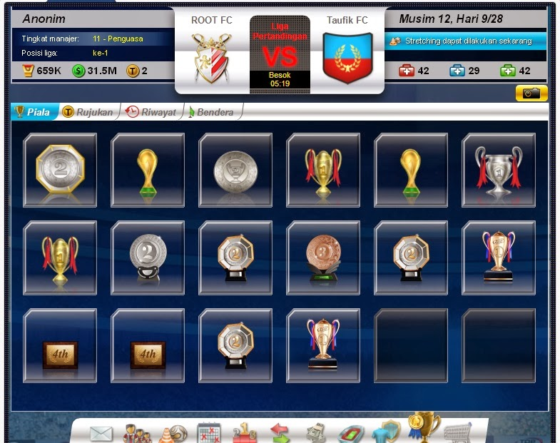 Tips Trik Top eleven ROOT FC Piala
