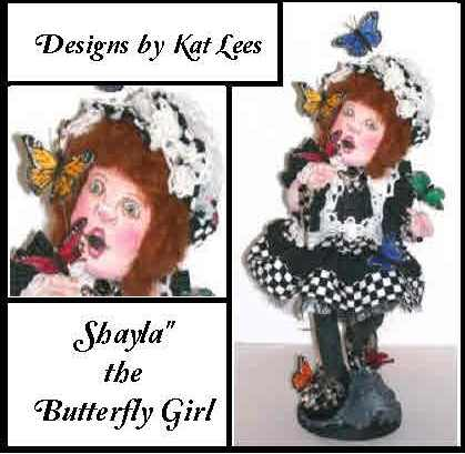 Shayla the Steampunk Butterfly Girl