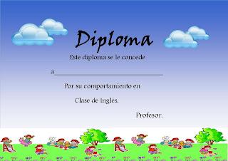 diploma infantil para editar wallpapers real madrid