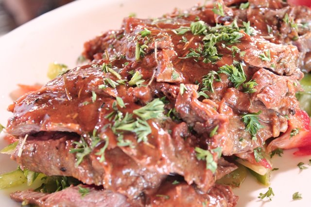BBQ Beef Skirt Steak Recipe