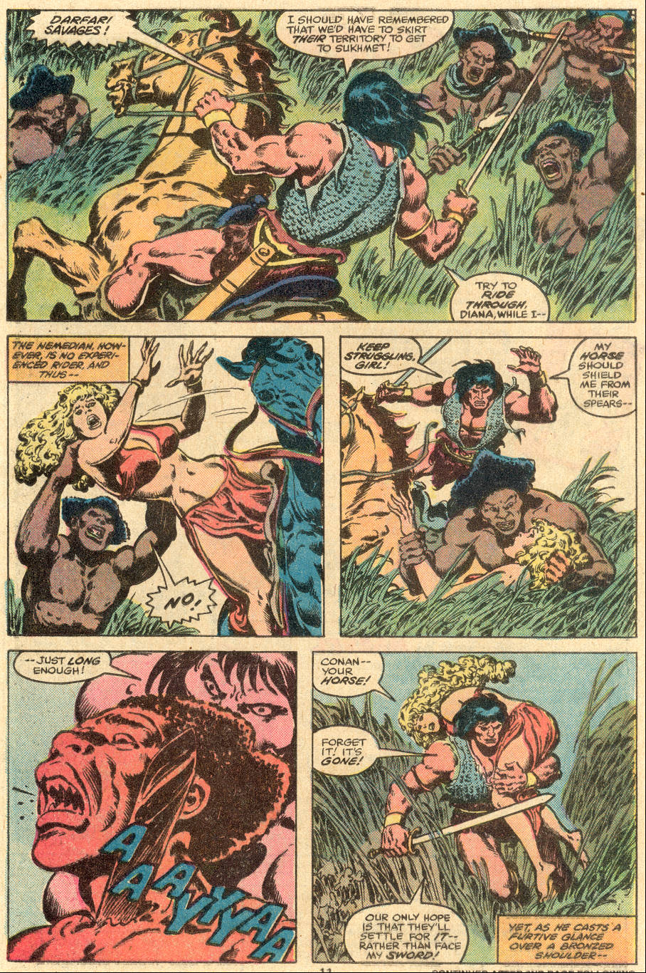 Conan the Barbarian (1970) Issue #108 #120 - English 8