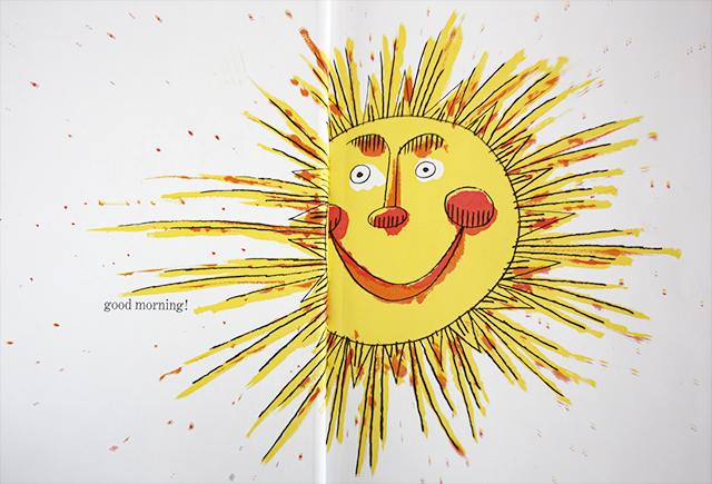 richard scarry's best storybook ever - sun illustration