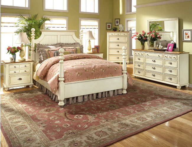 Country Style Bedrooms Elegance Dream Home Design