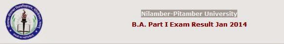 Nilamber Pitabmer University 2014 Results