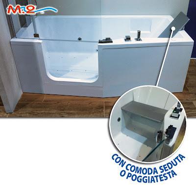 M 2 trasformazione vasca in doccia e sistema vasca nella - Vasca bagno con porta ...