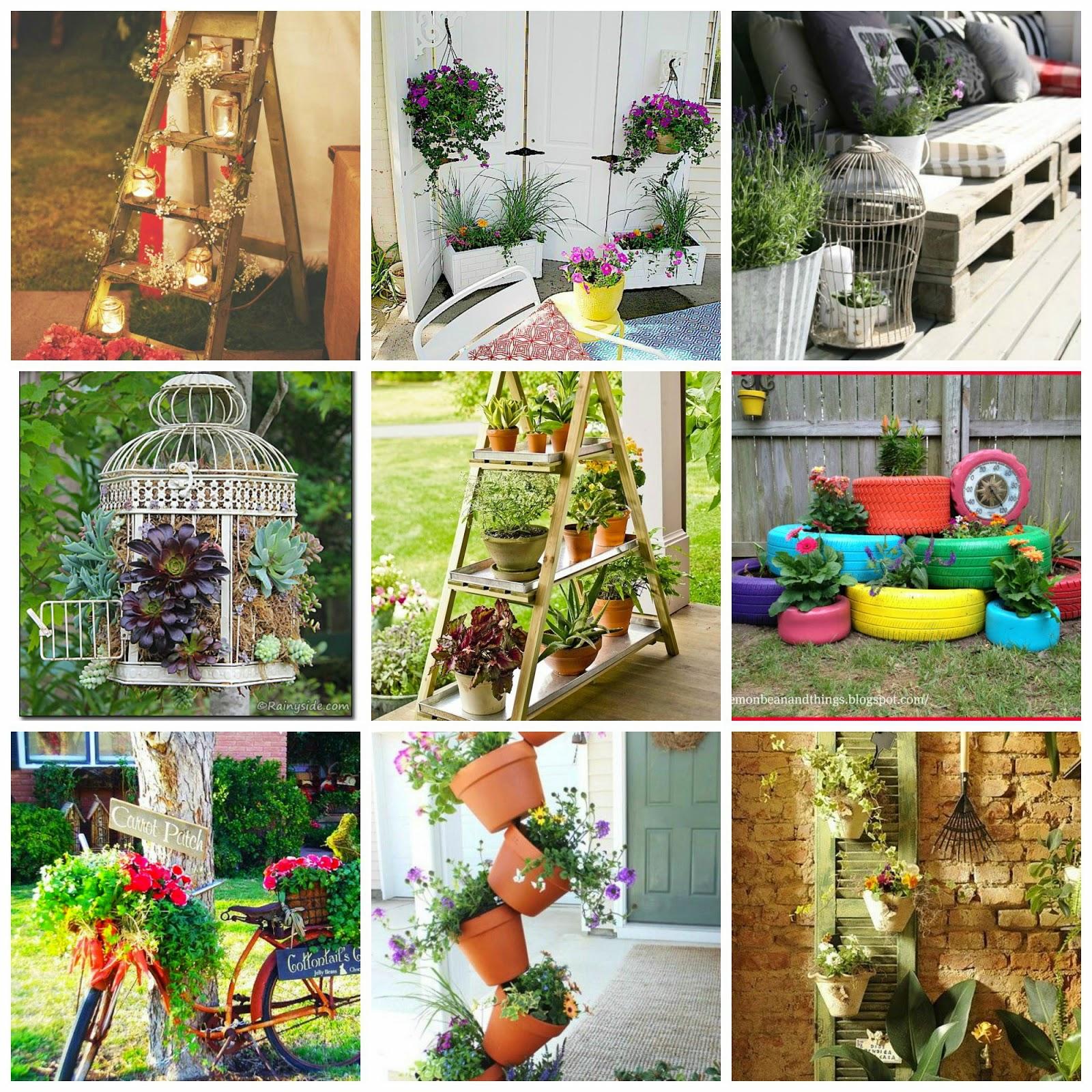 Idee fai da te per arredare il giardino donneinpink magazine for Idee creative per arredare