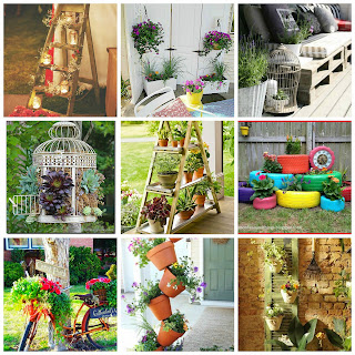 Idee fai da te per arredare il giardino - Idee per giardino fai da te ...