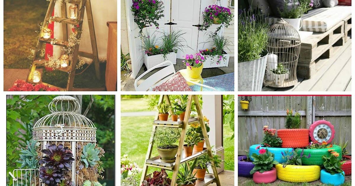 Idee fai da te per arredare il giardino - Idee per arredare un giardino ...