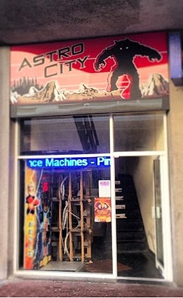 Astro City, Retro Video Game Arcade, in Southend-on-Sea, Essex, UK