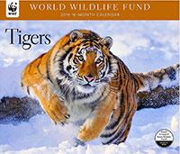 WWF Tigers Wall Calendar