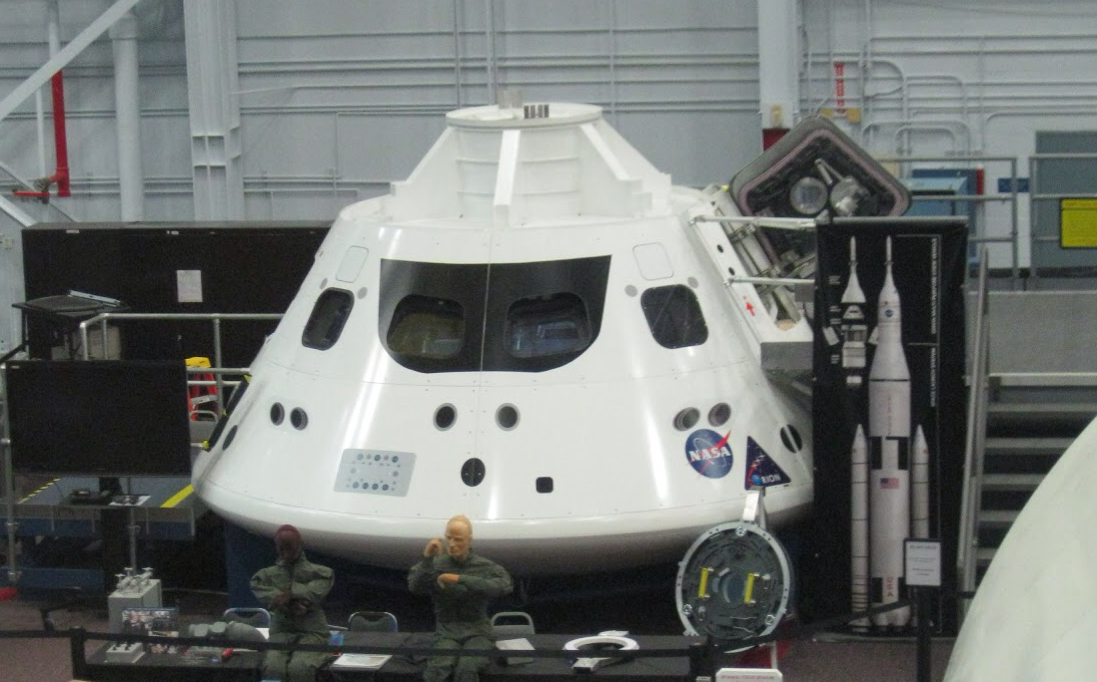 orion crew vehicle training mockup