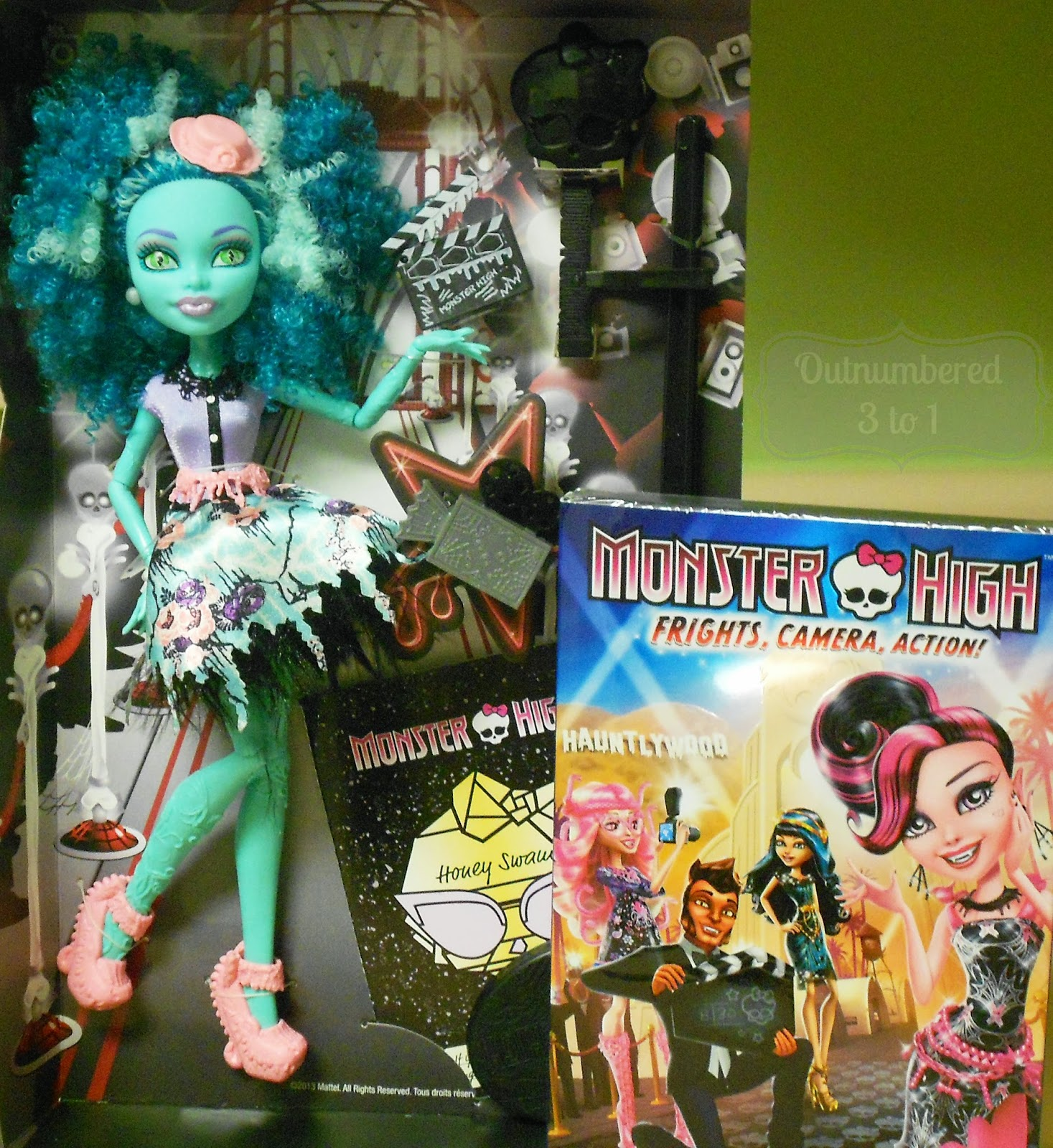 Monster High, Honey Swamp, Monster High DVD