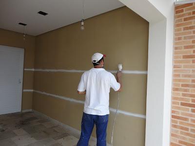 A reforma de nossa casa as cores das tintas deram vida a - Pintura para fachadas ...