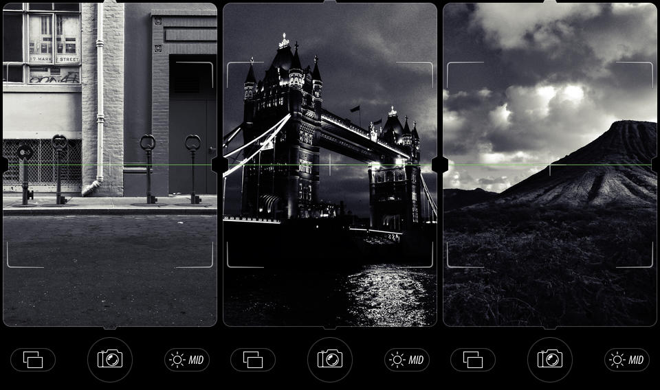 camera noir iphone ipad photo photography editing black and white app b&w edit filter