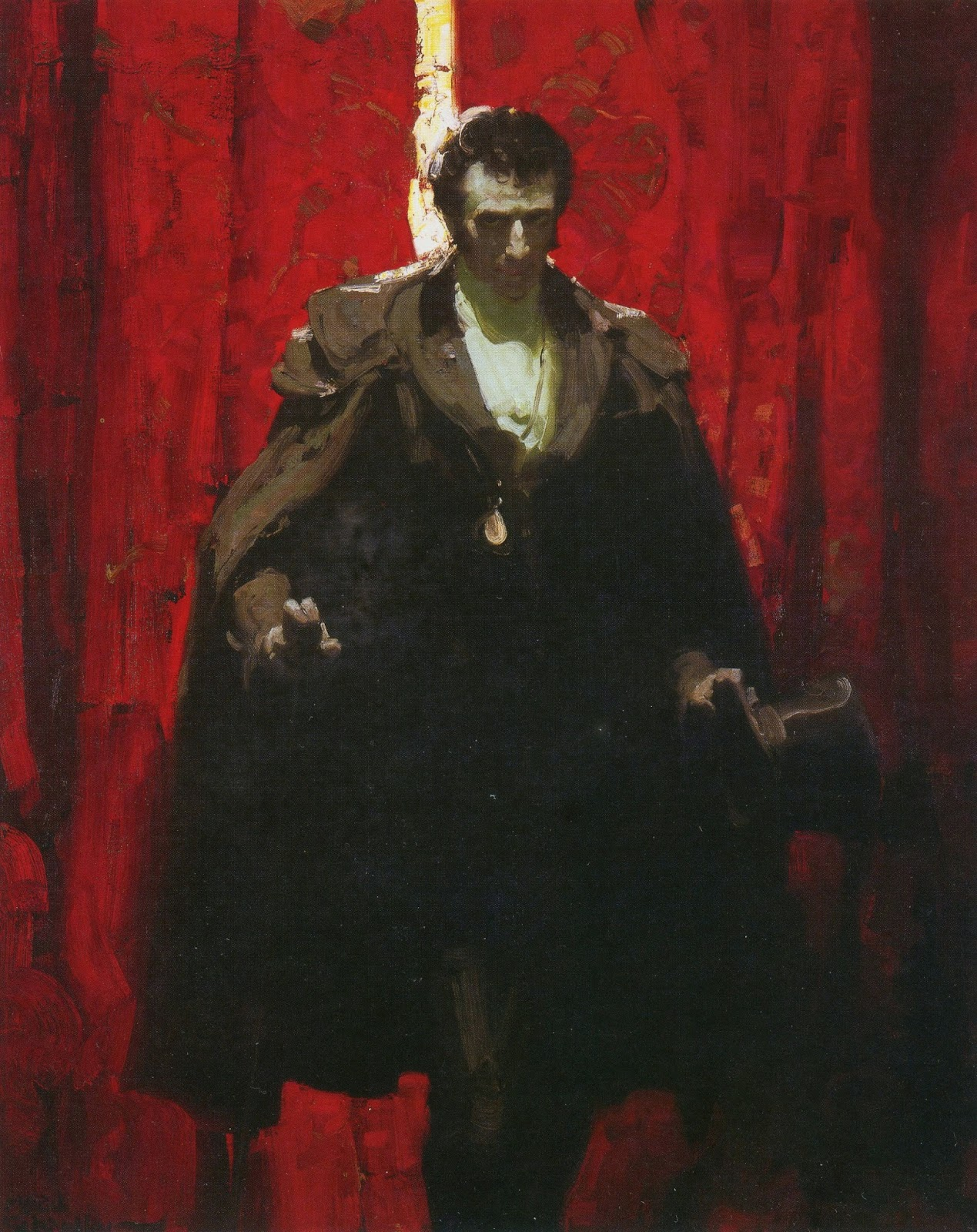 illustration art mead schaeffer a closer look the count of monte cristo from the kelly collection of american illustration