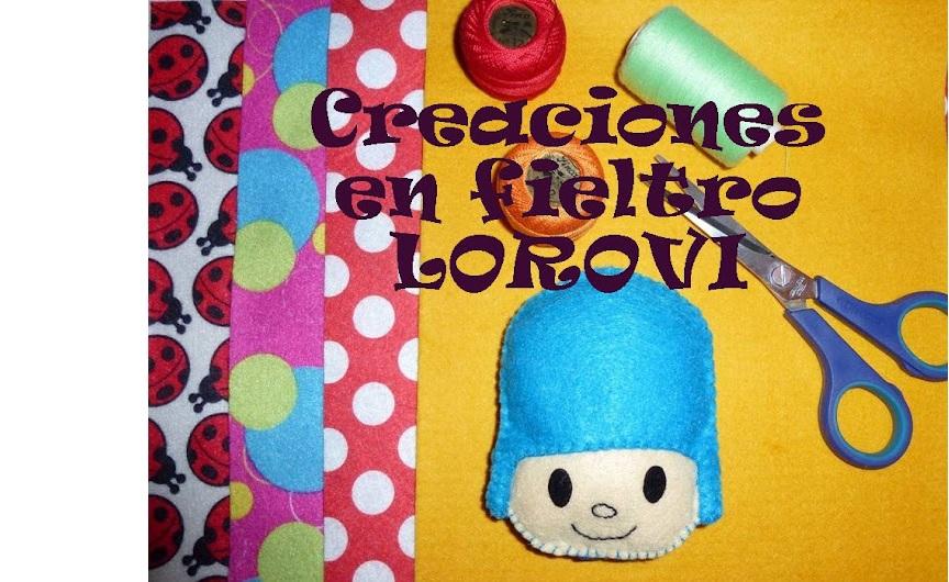 Creaciones en Fieltro LOROVI