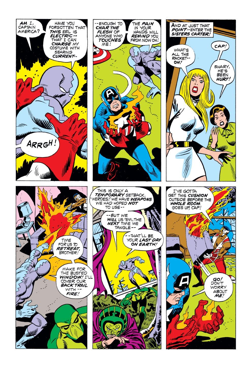 Captain America (1968) Issue #163 #77 - English 10
