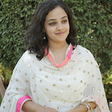 Nitya meenon Latest Photo Gallery in Salwar Kameez at New Movie Opening 39
