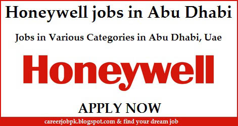 Honeywell job vacancies in Abu Dhabi