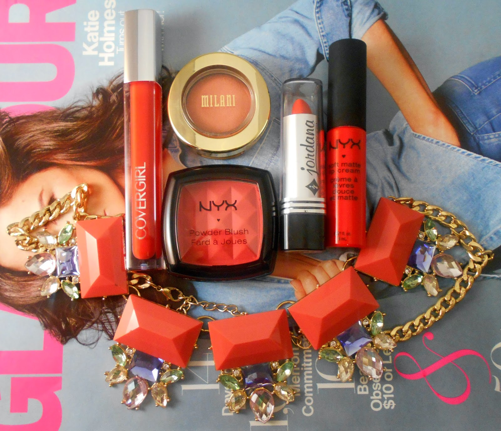 Top 5 Wearable Orange Makeup Products! (Fall Edition!)