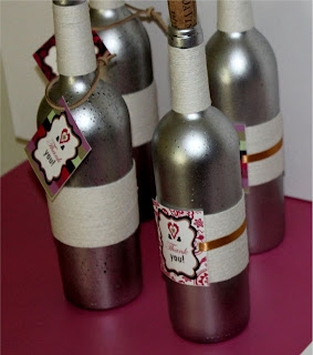 Craft Ideas Empty Wine Bottles on Deco Chick  Upcycle Your Empty Wine Bottles
