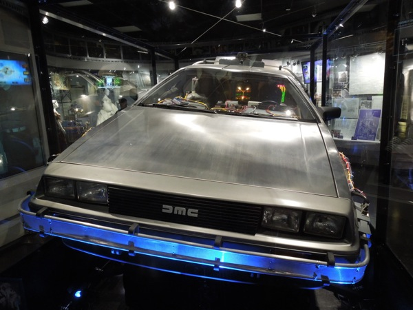 DeLorean Time Machine hood