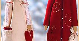 Выкройки для новогодней куклы фото 915